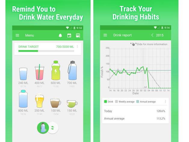 Water-drinking-app