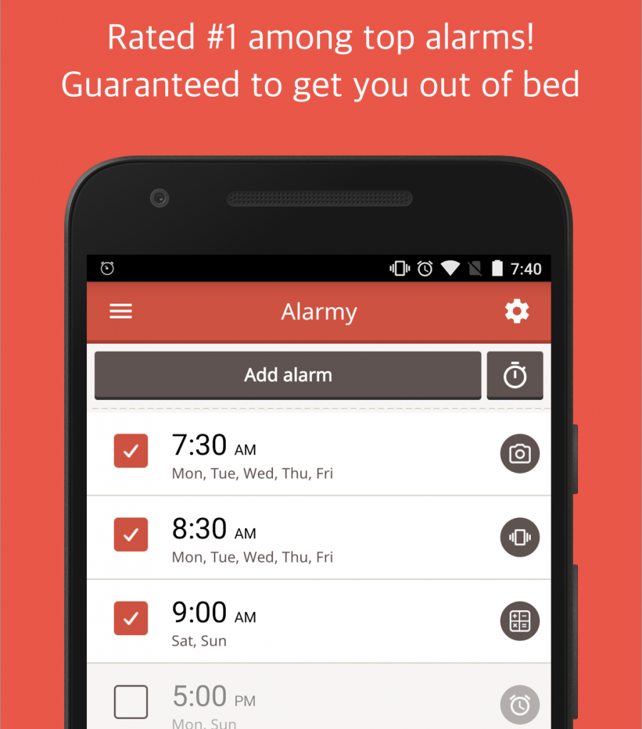 Alarmy-app
