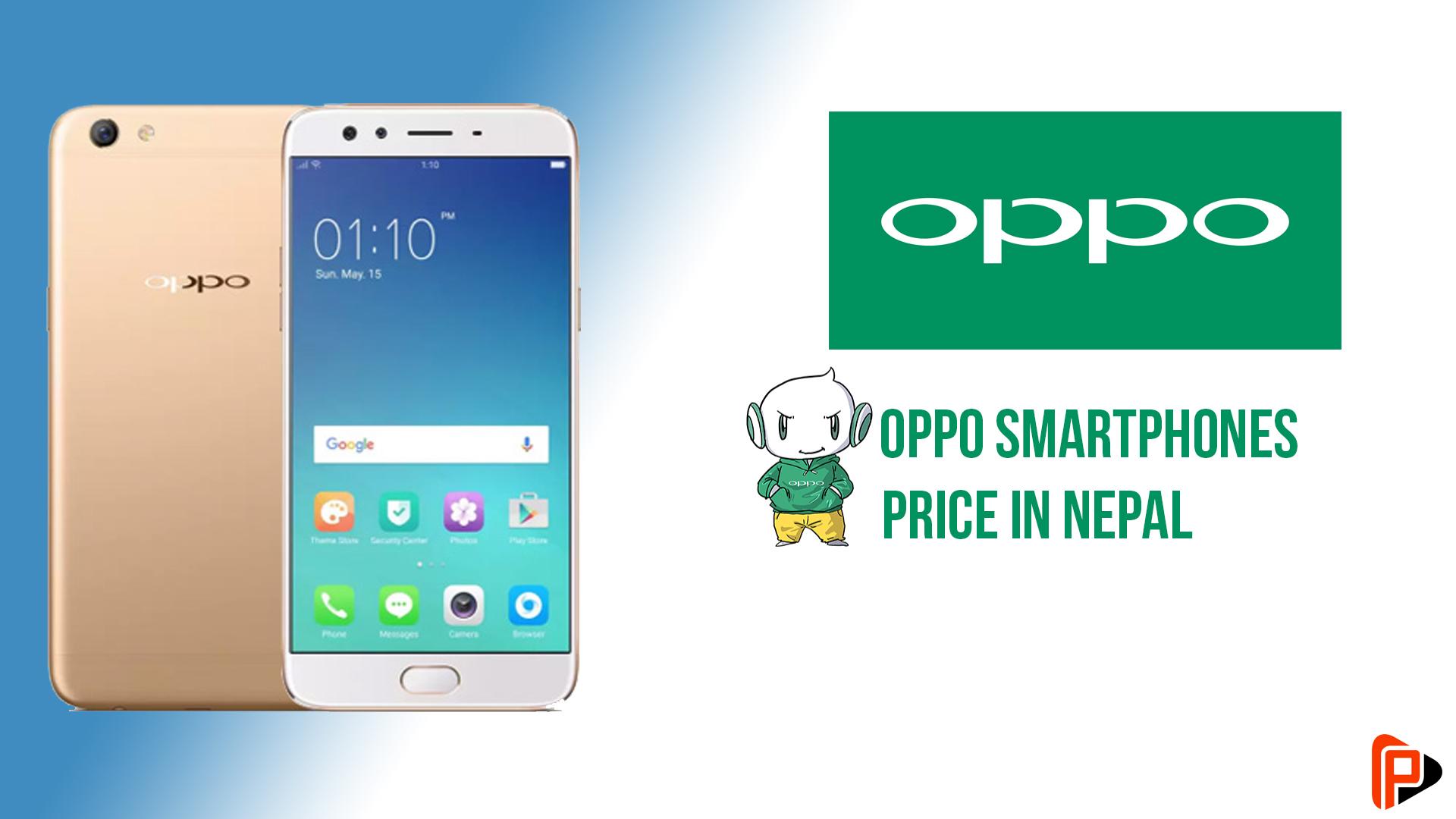 OPPO smartphones price in Nepal