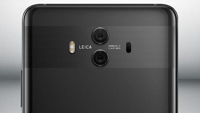 Huawei Mate 10 launched with dual f/1.6 rear cameras