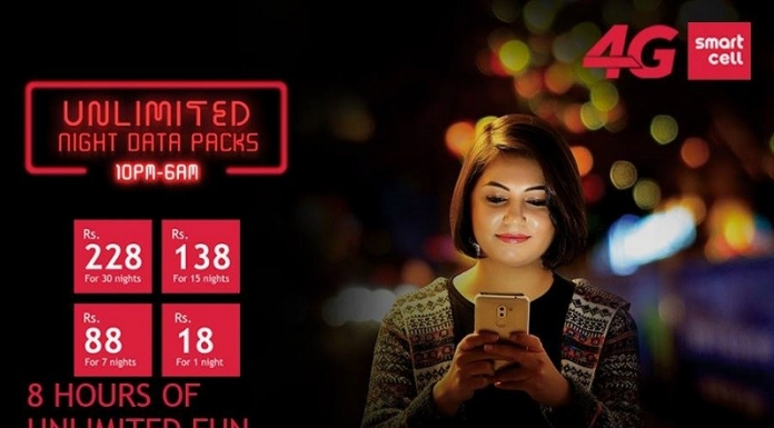Smart Cell Offers Unlimited Night Data packs-phones-in-nepal