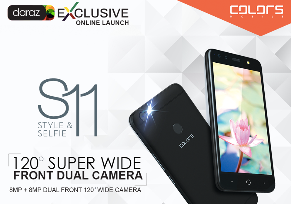Colors S11 with dual-cameras to launch soon in Nepal