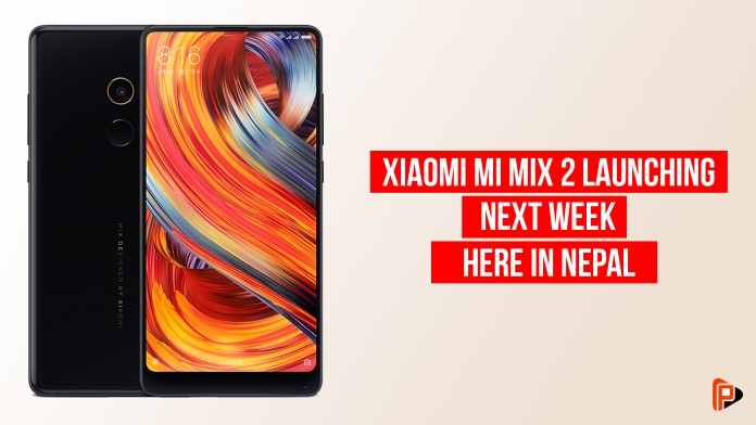 Exclusive: Xiaomi Mi Mix 2 to launch next week in Nepal-phones-in-nepal