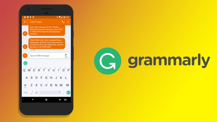 Grammarly Keyboard Impressions on Android