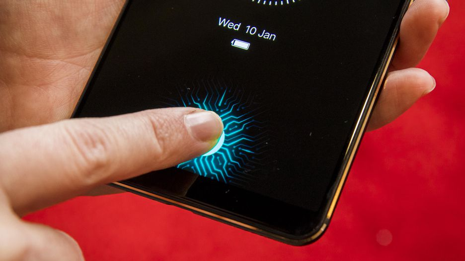Vivo showcases an in-screen fingerprint scanner