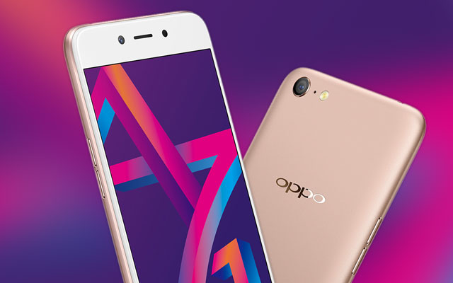 Oppo A71 (2018) launched with A.I. beautification