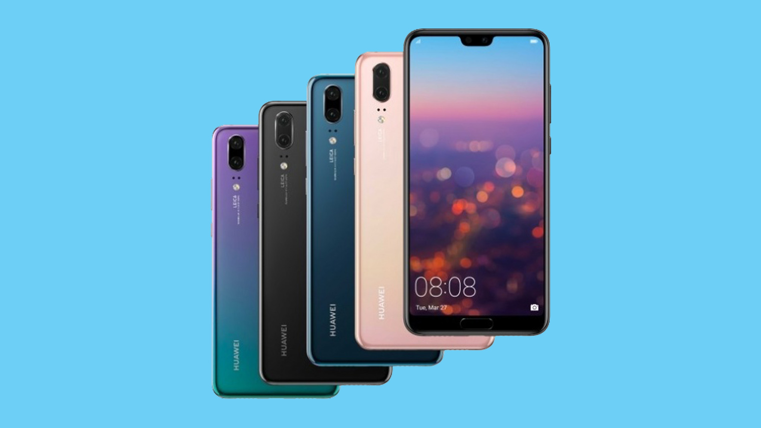 Huawei P20 officially launched in Nepal
