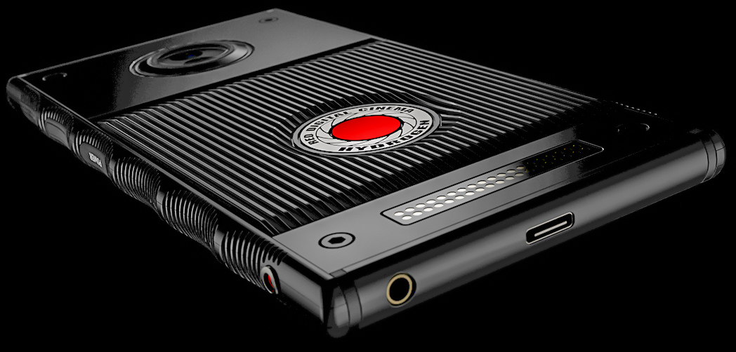 Red Hydrogen - A Holographic Gadget