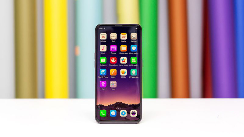 Oppo Find X ditches the notch for slide-out cameras