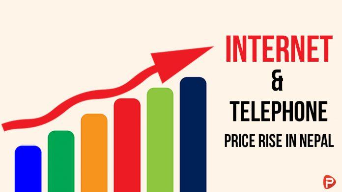 Internet price increase in Nepal