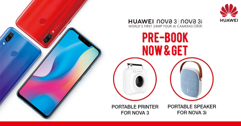 How to pre-book Huawei Nova 3 in Nepal
