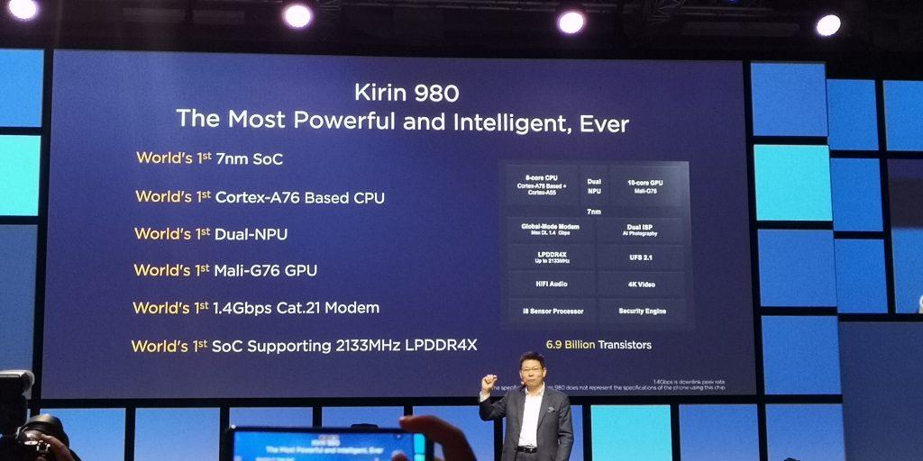 Kirin 980 features