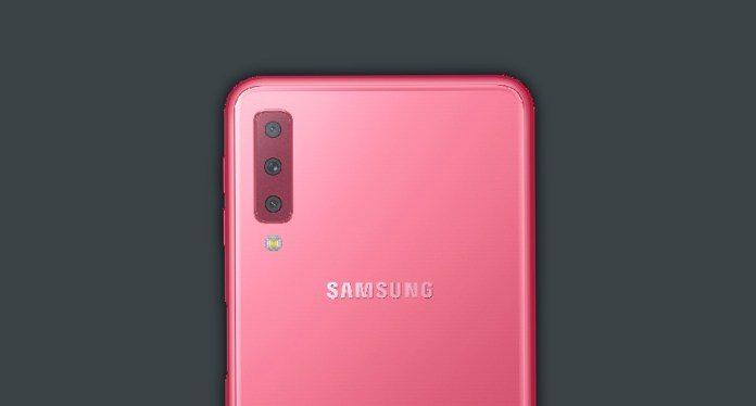 Samsung Galaxy A7 (2018) price in Nepal