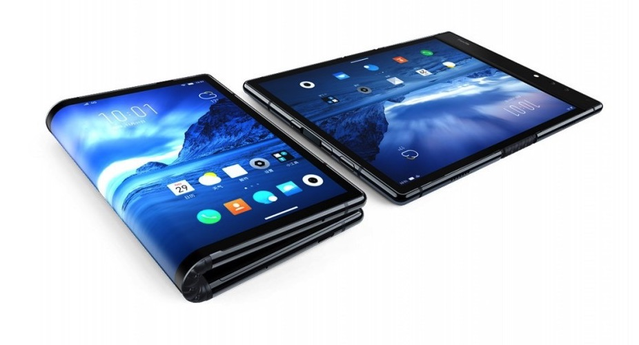 FlexPai: The world's first commercial foldable phone
