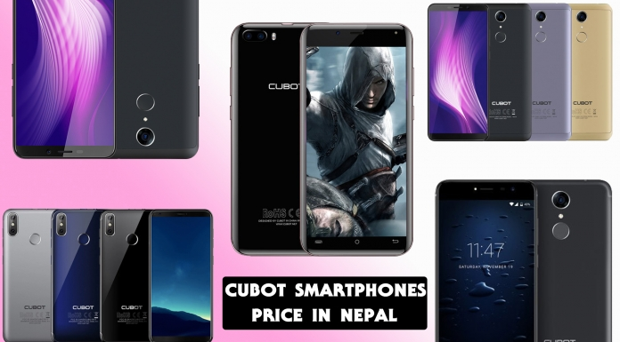 CUBOT Mobile price in Nepal