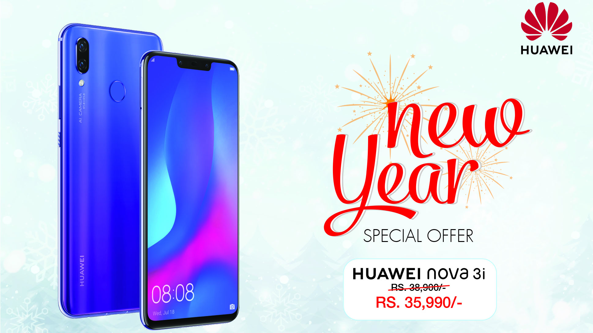 Huawei Nova 3i Price Drop