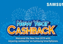 Samsung New Year Cash Back Offer