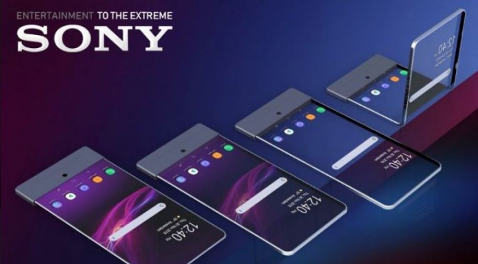Sony foldable smartphone