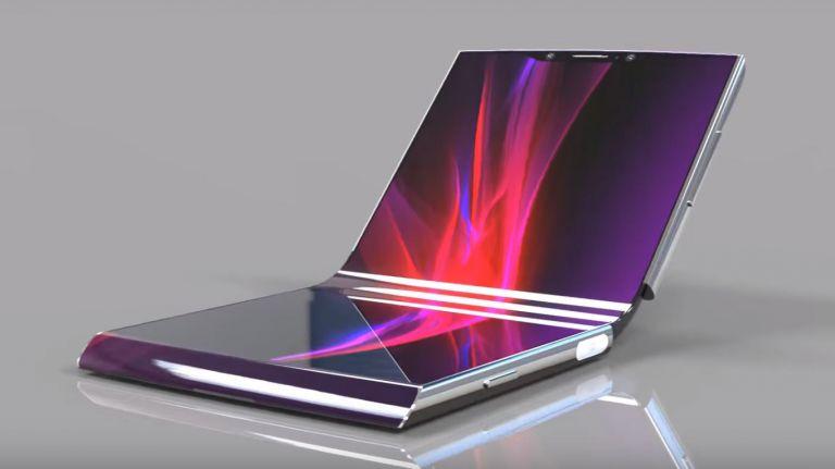 Sony foldable smartphone