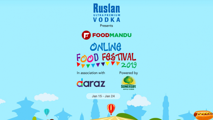 Foodmandu Online Food Fest