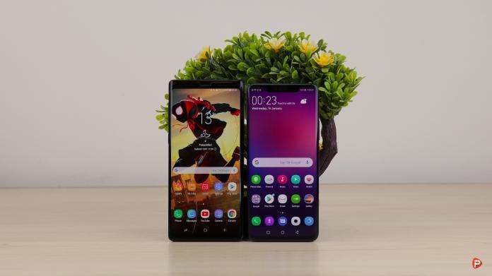 Huawei Mate 20 Pro vs Samsung Galaxy Note 9