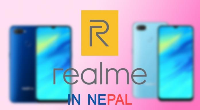 Realme mobile in Nepal
