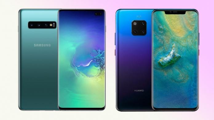 Samsung Galaxy S10+ vs Huawei Mate 20 Pro