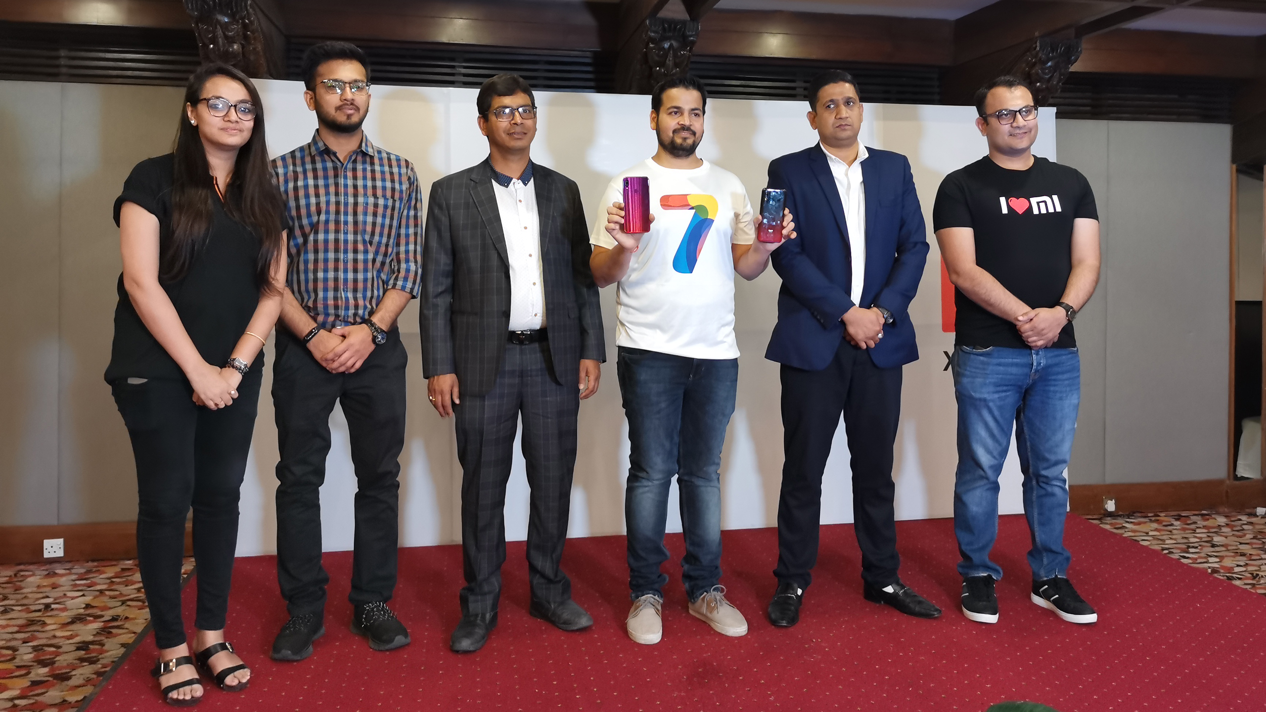 XIaomi Redmi 7 Launch Nepal