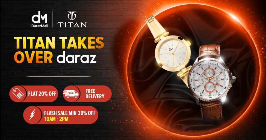 Titan Brand Day on Daraz