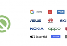 Android-Q-devices