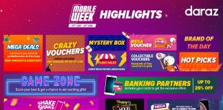 Daraz Mobile Week Offers