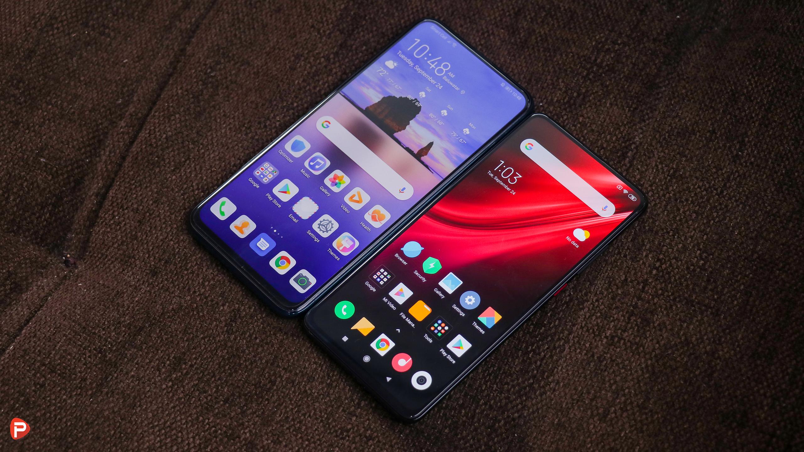 Redmi K20 vs Huawei Y9 Prime 2019