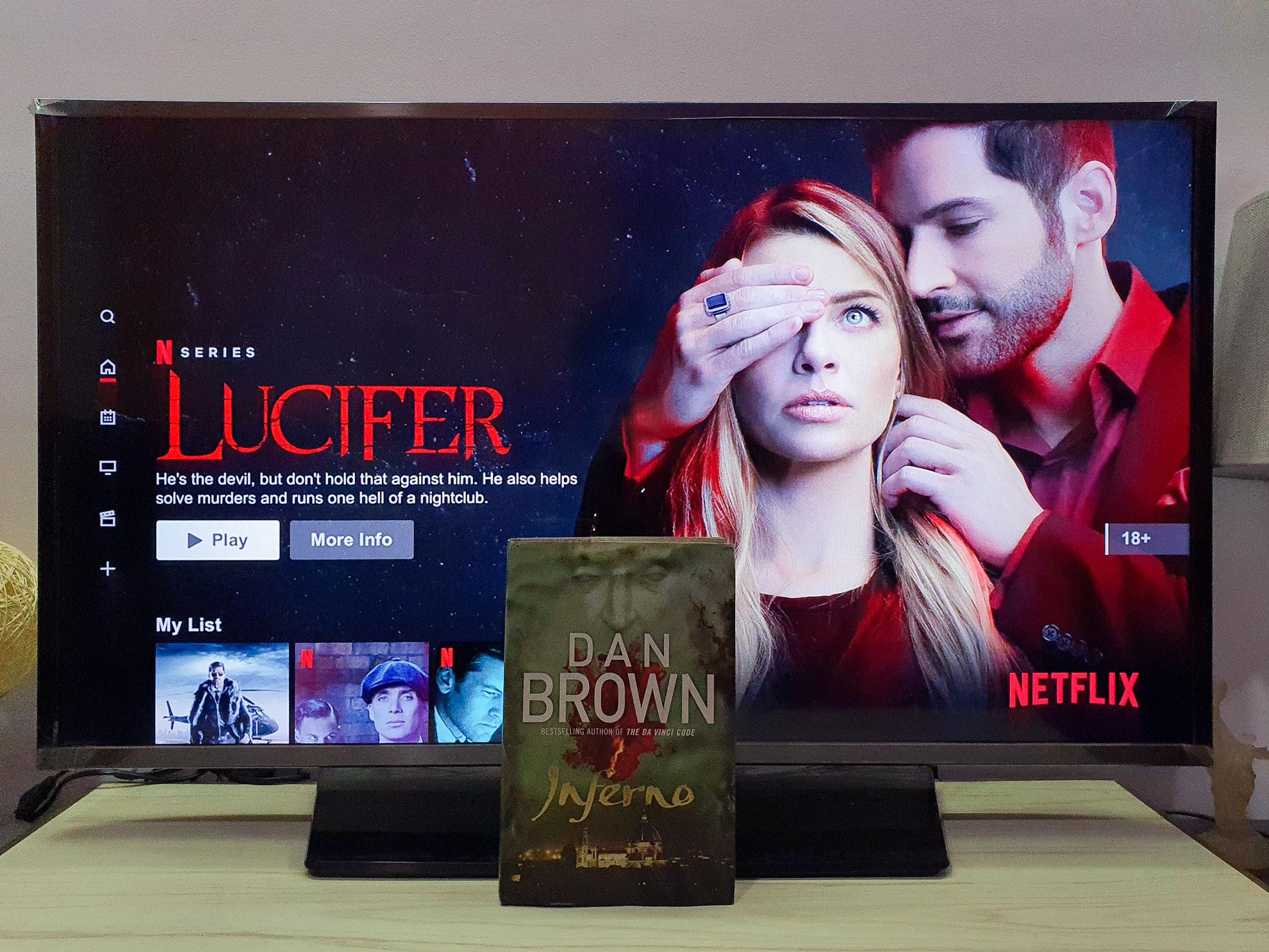 Netflix vs Book
