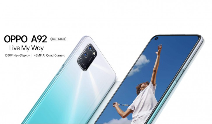 OPPO A92 Price, Camera, Battery, and Specifications
