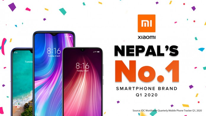 Xiaomi-becomes-No.1-Smartphone-Brand-In-Nepal