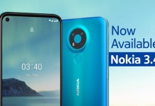 Nokia 3.4 Price in Nepal