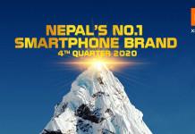 Xiaomi No 1 in Nepal